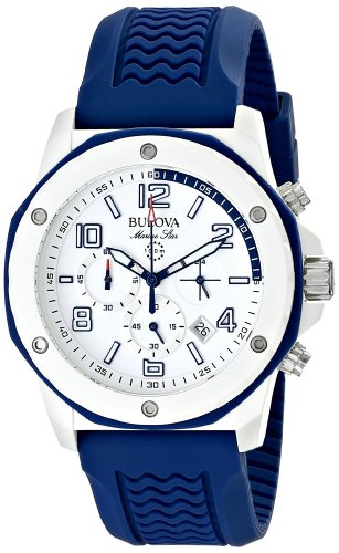 bulova-mens-98b200-white-stainless-steel-watch-with-blue-rubber-band