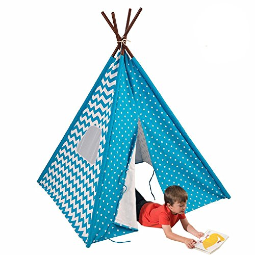 KidKraft Starry Skies Teepee Playhouse product image