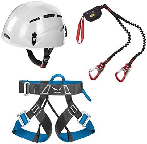 Salewa Via Ferrata Premium Attac + Alpidex Casco universal ARGALI ...