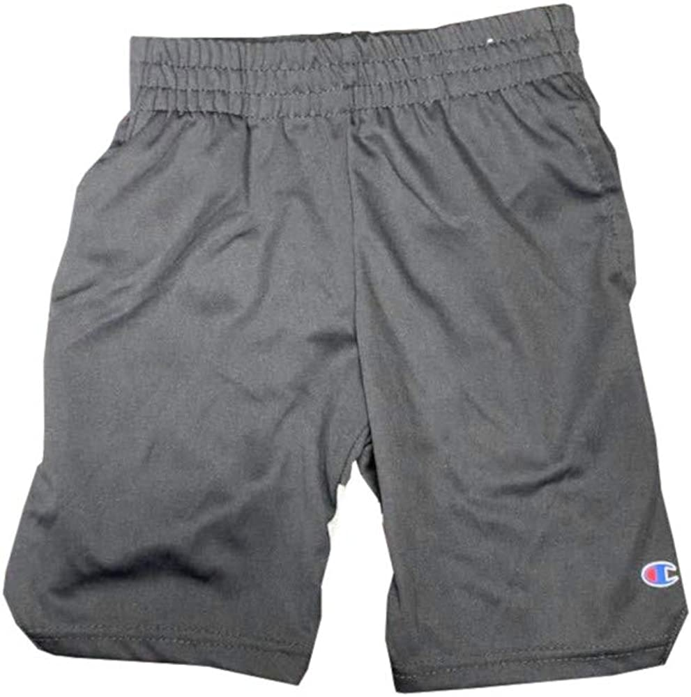 Beluga, Inc. Champion Boys Activewear Logo Print Shorts w/Pockets, Stealth