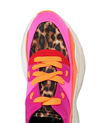 Sneaker Jeffrey Campbell Fuchsia Neoprene 42jc053 77rgRzpnq