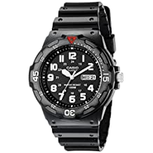 Casio Men's MRW200H-1BV Sport Analog Dive Watch