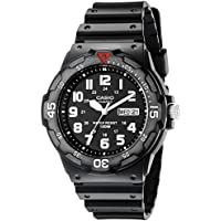 Casio Men's MRW200H-1BV Black Resin Dive Watch