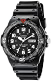 #6: Casio Men's MRW200H-1BV Black Resin Dive Watch