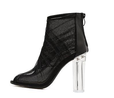 67152a8f58 Amazon.com | excellent.c Women's Dresses Teenage Dresses Fashion High Heels  Cut Out Open Toe High Heels | Pumps