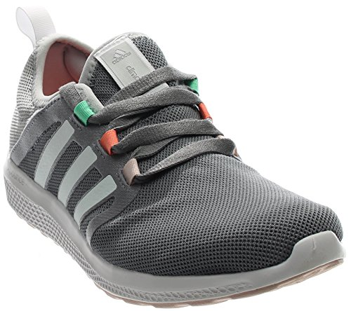 Adidas Climacool Fresh Bounce Womens Running Shoe 7.5 Grey-White-Clear Onix