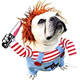 Dog Costume Pet Costume Pet Suit Take a Knife Rider Style Dog Halloween Costume Pet Funny Clothes