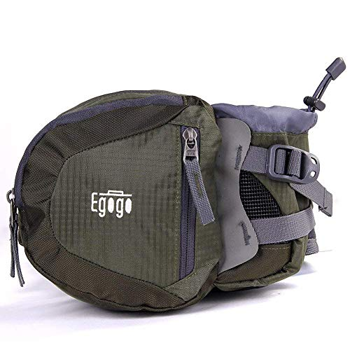 EGOGO Travel Sport Waist Pack Fanny Pack Bum Bag Hiking Bag with Water Bottle...