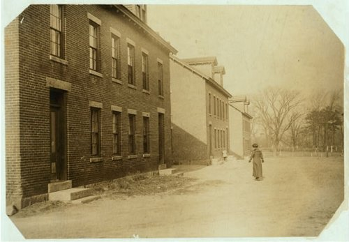 HistoricalFindings Photo: Housing Conditions,Lonsdale,Rhode Island,Labor Housing,Lewis Wickes Hine,1912