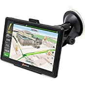 "junsun 7"" Portable Updated Version Car GPS Navigation 8G Touch Screen Pre-installed North America Maps Lifetime..."