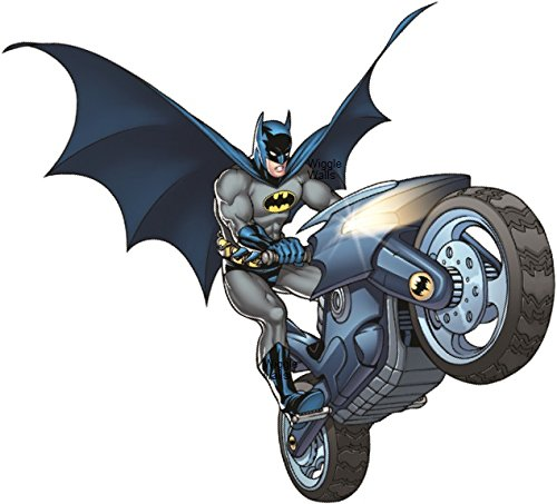 Batbike Batman Motorcycle Bat Bike Man Dark Knight DC Comics Justice League Beyonad Begins Forever Origins Returns Removble Wall Decal Sticker Art Home Decor -6 Inch x 8 -