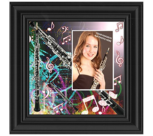Oboe, Oboe Gifts for Marching Band Picture Frame, 10X10 3508B