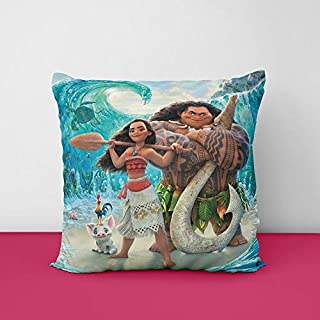 51EdbKMnDpL. SS320 Disney Moana Kid's Square Design Printed Cushion Cover