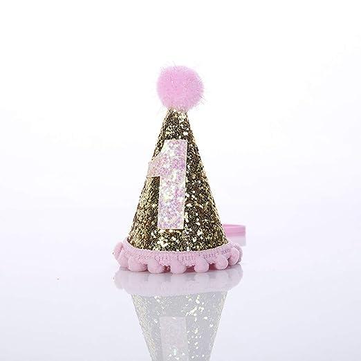 JZTRADING Princesa bebé Corona Festival Fiesta de cumpleaños ...