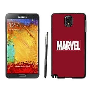 NEW Unique Custom Designed For Case Samsung Note 4 Cover Phone Case With Marvel Comics Simple Logo_Black Phone Case