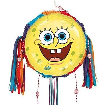Bob Esponja Bob Esponja Tire Cadena Piñata Amazones