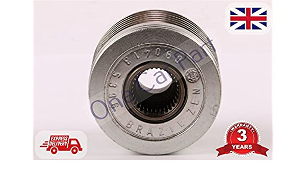 11P132 ALTERNATOR CLUTCH PULLEY Expert - Bóxer (1,4, 1,6 y 2,0, 2,2 HDI): Amazon.es: Coche y moto