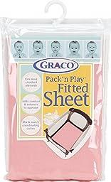 Graco Pack \'n Play Playard Sheet, Pink