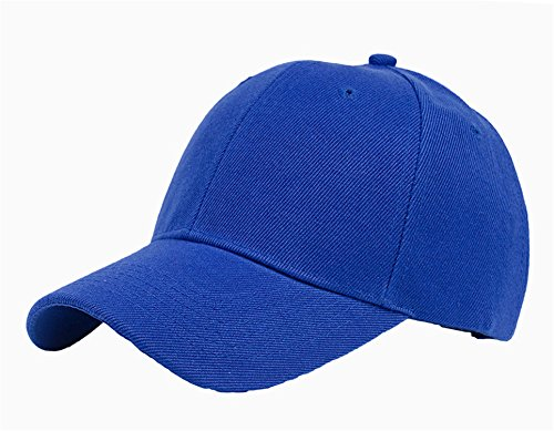 (6 Colors Simple Casual Leisure Solid Color Adjustable Baseball Hat Cap For Woman & Man B290 Navy)