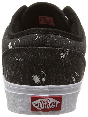 4d8349642dc Vans Men s Atwood (Beach) Black Mystic Blue Skate Shoe 13 Men US   Amazon.ca  Shoes   Handbags