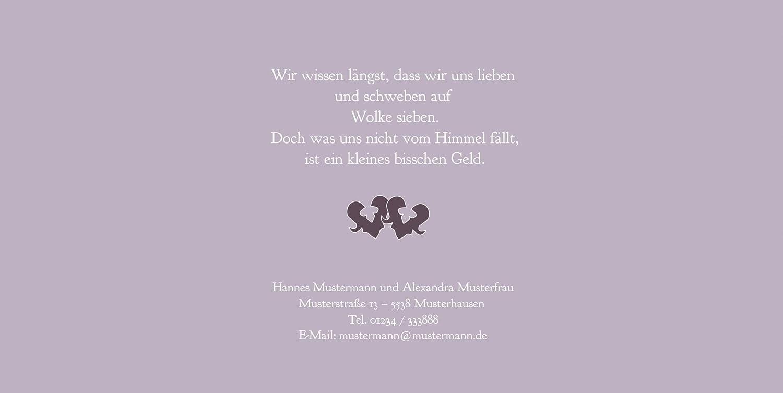 Kartenparadies Hochzeitskarte Einladung Ornament mit Herz, hochwertige hochwertige hochwertige Einladung zur Heirat inklusive Umschläge   10 Karten - (Format  215x105 mm) Farbe  Rosadunkellila B01MZBZWD0 | Niedriger Preis  | Spaß  | Online-verkauf  b7a774