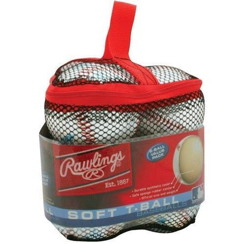 Rawlings tvbbag6 t-ballsのバッグ、6pk   B00U075VTS