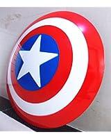 Gmasking Captain America Adult Shield 1:1 Prop Replica+Adjustable Straps