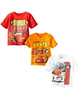 Disney Boys' Cars Three-Pack T-Shirt