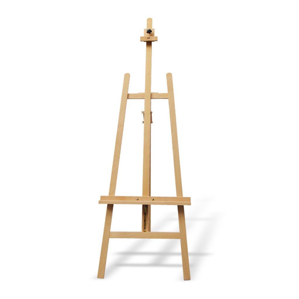 イーゼル スケッチブック木製アートボード広告ディスプレイラック広告不動産スタジオディスプレイブナイーゼルラックソリッドウッドイーゼルを増やす   B07JQ9HWRV