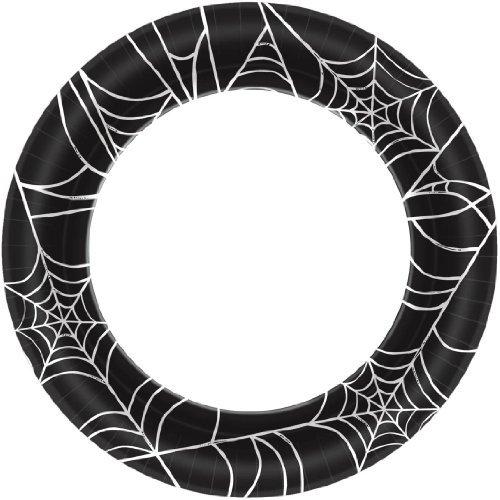 Amscan Spider Webs Dinner Plates (40ct) ()