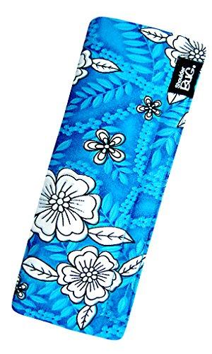 Shoulder Bug Seat Belt Shoulder Pad Hibiscus Aqua Blue by -