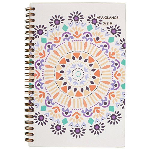 December Planner (AT-A-GLANCE Weekly / Monthly Planner, January 2018 - December 2018, 4-7/8