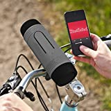 ZEALOT S1 Multi-in-1 Function Bicycle Speaker Long Playtime Bluetooth Speakers Music Player/Torch/Power Bank/FM Radio(Gray)