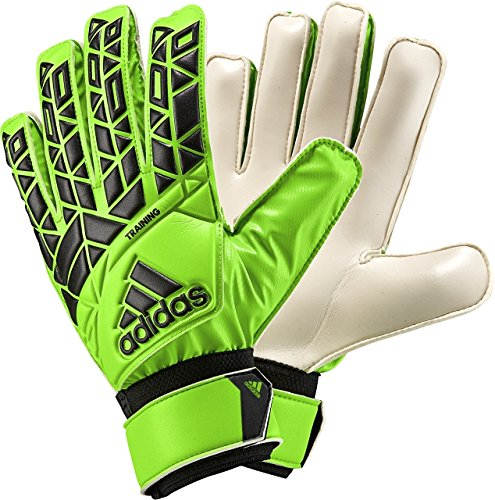 adidas Performance Ace Training Goalie Gloves, Solar Green/Black, Size (Goalkeeper Training)