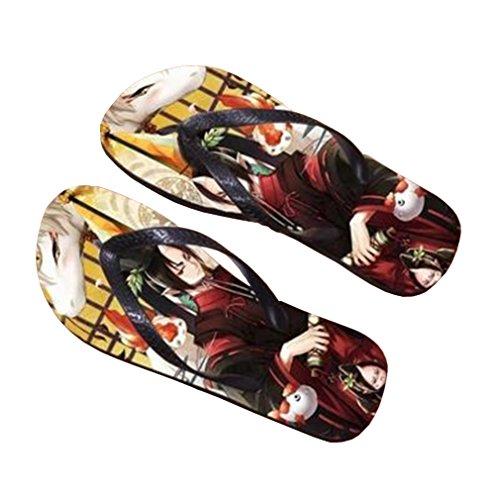 Bromeo Hoozuki no Reitetsu Anime Unisex Flip Flops Chanclas 589