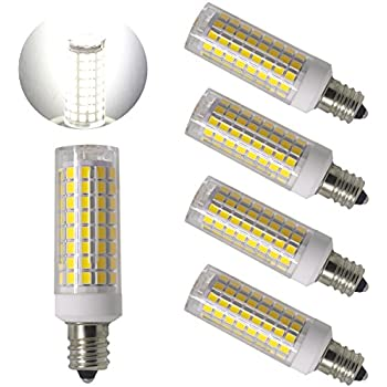 ulight e12 led light bulbs 75w 80w 100w replacement 85w halogen bulbs equivalent 850lm. Black Bedroom Furniture Sets. Home Design Ideas