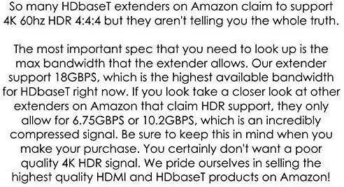 8×8 HDR 18GBPS HDbaseT 4K HDMI Matrix SWITCHER 6 PoC Receivers HDMI 2.0a 2.0 CAT6 CAT5e HDMI HDCP2.2 Routing SPDIF Audio CONTROL4 Savant Home Automation 51Edex4x 2L