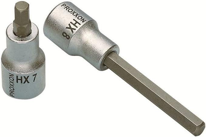 """Innensechskant Einsatz 1//4/"""" 6mm ProxxonInnensechskanteinsatz Antrieb 6,3mm"""