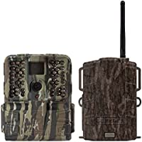 Moultrie S-50i 20MP 80 Video No Glow IR Game Trail Camera + Mobile Field Modem