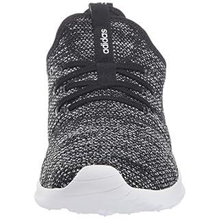 adidas Women's Cloudfoam Pure Running Shoe, Black/Black/White, 11 Medium US