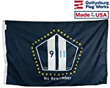 Cheap Gettysburg Flag Works 3×5′ September 11″ We Remember Commemorative Outdoor Flag, Made in USA by