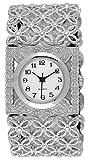 Mouiln Women's Fancy Stretch Bracelet Watch Silver-Tone #18723.75857