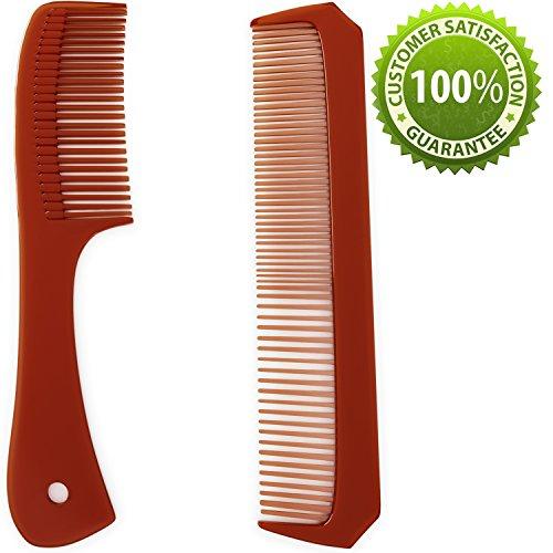 Unisex Hair Comb Kit for Men & Women - Styling Comb Set for