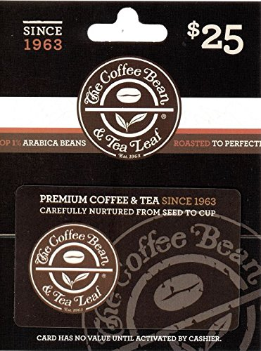 The Coffee Bean & Tea Leaf $25 Gift Card