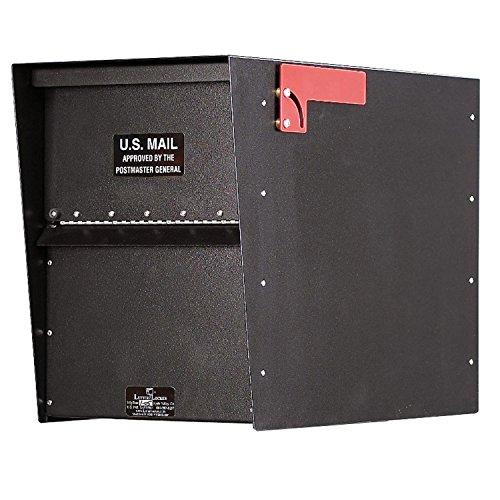 Jayco LLA3RRSTD Standard Rear Access Aluminum Letter Locker Mailbox Bronze