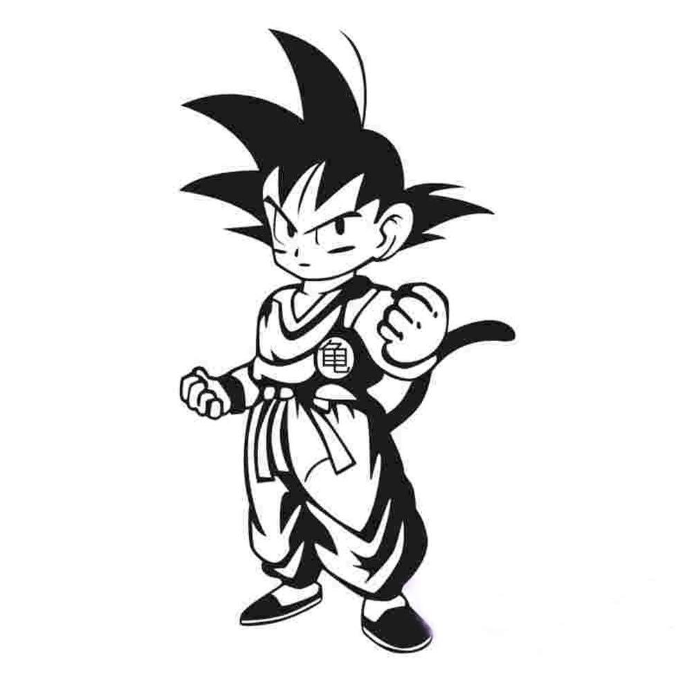 Dragon Ball Tatuajes de pared Etiqueta de Dragon Ball Anime ...