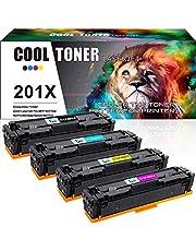 Cool Toner 4 Pack Kompatibel für HP 201X 201A CF400X CF400A Toner