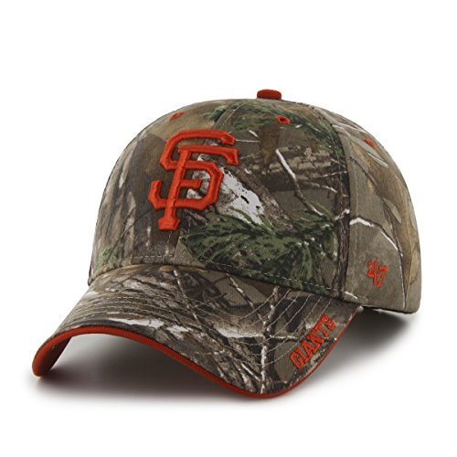 mlb-san-francisco-giants-47-frost-mvp-camo-adjustable-hat-one-size-fits-most-realtree-camouflage