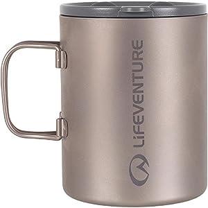 Lifeventure Titanium Insulated Travel Mug 450ml
