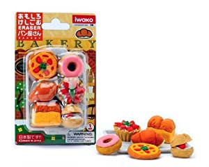 Iwako Japanese Eraser Set - Japanese Baked Goods